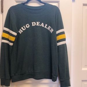 Target | Dark Green Graphic Sweatshirt
